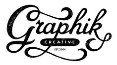Reto-Modern style, hand drawn lettering, No.2 by Dan Cotton.