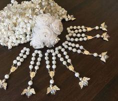 Recuerdos De Bautizo Baptism Party Favors Mini Rosaries Christening Favor SET 30 #Unbranded #baptismcommunionwedding