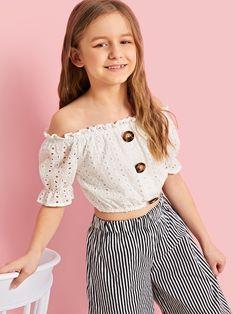 Girls Dresses Online, Dresses Kids Girl, Little Girl Outfits, Kids Outfits Girls, Cute Girl Outfits, Cute Outfits For Kids, Toddler Girl Outfits, Cute Summer Outfits, Cute Casual Outfits