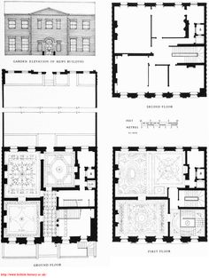 Number one london the regency town house join us as we for Small georgian house plans