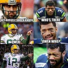 Knock knock, Russell. #GoPackGo
