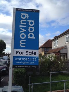 Our for sale board