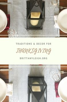 Find some of our favorite traditions, links included for decor ideas! Favorite Holiday, Nespresso, Thanksgiving, Decor Ideas, Traditional, Lifestyle, Food, Thanksgiving Tree, Essen