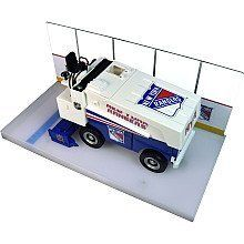NHL New York Rangers 1:25 Die Cast Zamboni Replica by Fan Fever. $42.95. The Fan Fever NHL Zamboni replica is sure to make you smile. The opening side doors and hood reveal the detailed engine. This 1:25-scale collectible is decorated with vibrant NHL team graphics.