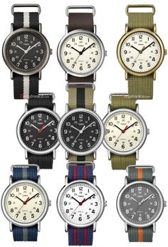 Timex Weekender Full Size Analog Watch