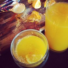 Another one! The Sinus Infection Juice. Does your sinusitis stress you out? Give you severe headaches, restless nights, and endless agony? Then this juice is a great help! Ingredients: 1/4 tsp. cayenne, 1/4 tsp. turmeric, 1 cup lemon juice, 1/2 in. ginger (chopped into very small pieces) Drink 1-2 times a day. #juicing #healthyjuices #paleodrinks #paleojuice