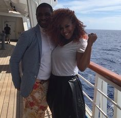 tina and teddy campbell Black Royalty, Mary Mary, Celebrity Couples, Black Love, Cuddling, High Waisted Skirt, Celebrities, People, Inspiration