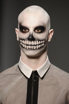halloween face makeup male - Google Search                                                                                                                                                                                 More