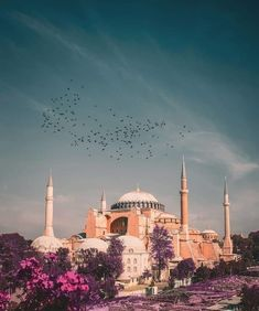 Places Around The World, Around The Worlds, Mountains In Italy, Mecca Wallpaper, Mosque Architecture, Istanbul Travel, Beautiful Mosques, Hagia Sophia, Islamic World