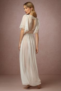 Starlet Robe in Bride Bridal Lingerie Chemises & Robes at BHLDN