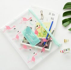 Office & School Supplies File Folder Frank A5 Cherry Sakura Blossoms Zipper File Bag Document Bag File Folder Stationery Filing Production New Varieties Are Introduced One After Another