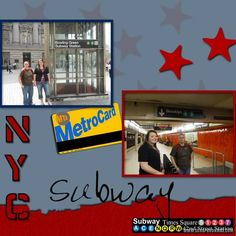 NEW YORK SCRAPBOOK PAGES | New york