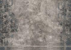 wall and deco behang brush grey