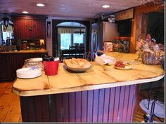 exactly what i am wanting to do to my kitchen... LOVE IT...  fw to Kelly Parkison