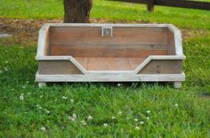 Reclaimed Wood Dog Bed -   The Wee Wee by HollowCreekFarmShop on Etsy https://www.etsy.com/listing/204086468/reclaimed-wood-dog-bed-the-wee-wee