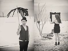 Tim Burton inspired shoot. :)