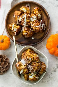 Slow Cooker Pumpkin Monkey Bread