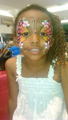 maquiagem borboleta