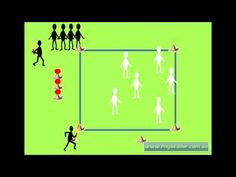 Physical Education Minor Games - RAPID FIRE - YouTube