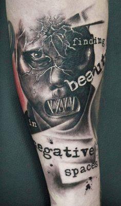 Tattoo Artist - Pete The Thief - mask tattoo