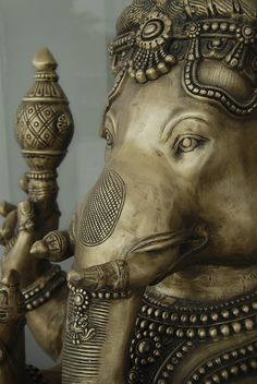 Lord Ganesha Great detail of bronze Ganesha..beautiful.