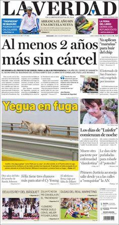 #Portadas #PrimeraPagina #Titulares #Noticias #DesayunoInformativo @DiarioLaVerdad