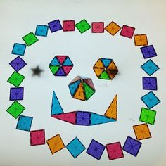 Light Table Magna Tiles Design What Do You See