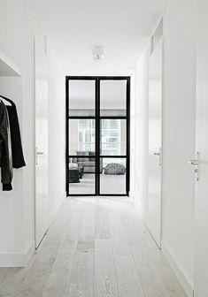 Combi zwarte en witte deuren