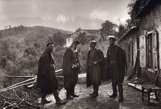 Cretan Men of the 1920's. Photo by Fred Boissonas