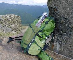 Granite Gear Lutsen 55L Backpack Review - http://sectionhiker.com/granite-gear-lutsen-55l-backpack-review/