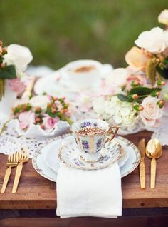 English tea party!