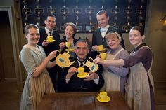 Downton Abbey cast raising funds for a charity