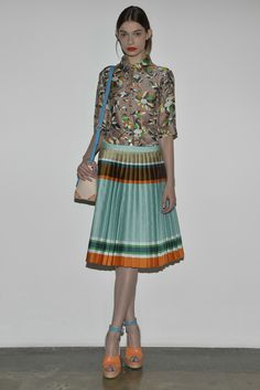 Sfilata Ostwald Helgason New York - Collezioni Primavera Estate 2014 -  #Vogue #nyfw #