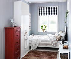 ein großes schlafzimmer in landhausstil mit tyssedal ... - Ikea Landhausstil