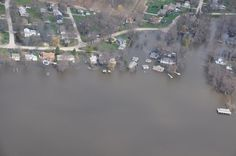 Photo1- Cuba Township between McHenry and Algonquin Dam on the Fox River.  Courtesy of C Kent.