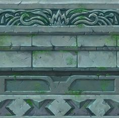 Laurence Gardiner : A floor centre piece/accent for a work in progress scene. Texture Drawing, 3d Texture, Tiles Texture, Texture Painting, Game Textures, Textures Patterns, Zbrush, Scrapbook Background, Hand Painted Textures