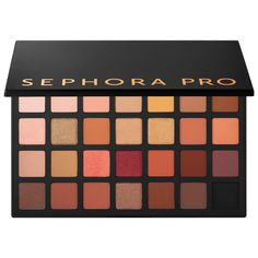 Shop SEPHORA COLLECTION's Sephora PRO Warm Palette at Sephora. This deluxe eyeshadow palette features 28 warm shades, plus a how-to pamphlet.