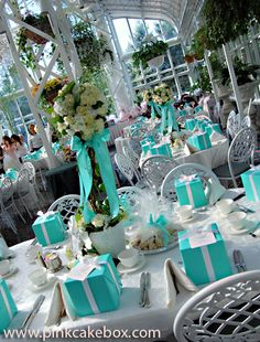 Tiffany & co inspired party; JDRF gala ideas