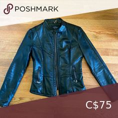 Faux Leather Jacket In great condition LA Coalition Jackets & Coats Leather Jackets