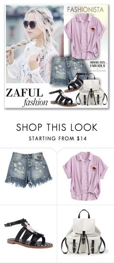 """""""zaful"""" by sneky on Polyvore featuring Steve Madden"""