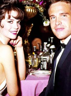 "Natalie Wood & Warren Beatty - Shortly before her death: ""You know what I want? I want yesterday."