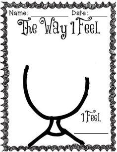 Ο τρόπος που αισθάνομαι Δημοτικό Kit για να διδάξουν για τα συναισθήματα και τις συγκινήσεις