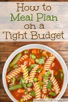 See how to meal plan