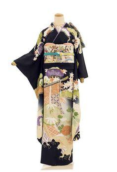 Traditional Kimono, Traditional Outfits, Traditional Japanese, Japanese Outfits, Japanese Fashion, Japanese Clothing, Japanese Costume, Japanese Kimono, Kimono Fashion