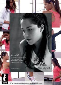 Ana Ivanovic for adidas