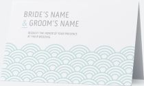 pattern scalloped Invitations & Announcements