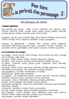 vocabulary words for essay * essay vocabulary words French Language Lessons, French Language Learning, French Lessons, French Flashcards, French Worksheets, Writing Advice, Writing A Book, French Adjectives, French Education