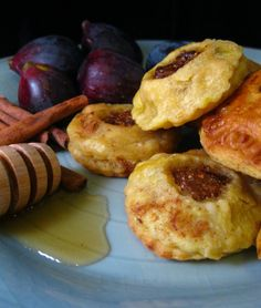 Medieval Fig Tarts Thoughts: These are slightly addictive little morsels, and with good reason. Take a fruit as tasty and decadent as figs, dice them, spice them, put them in buttery pastry, then f…