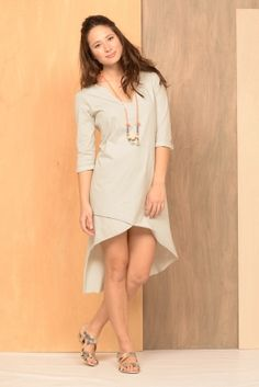 Mykonos Tunic Dress | Synergy Organic Clothing $75