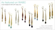 today may 18-19 only!!! go to wabc.com for more info on there secret sales!!  Sophia and Chloe Jewelry Designs by Nathalie Sherman $38